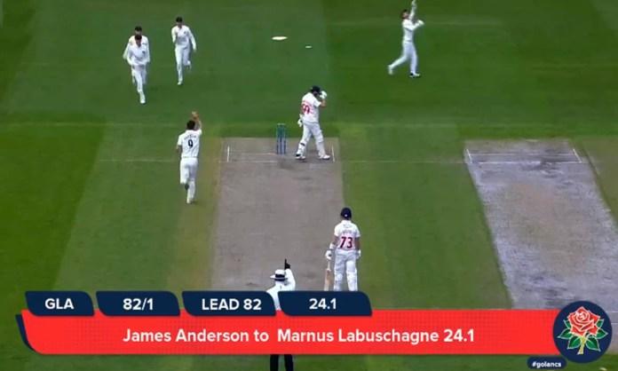 Cricket Image for VIDEO: जेम्स एंडरसन के सामने थर-थर कांपे मार्नस लाबुशेन, आउट होने के बाद की एक्टि