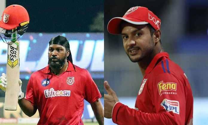 Cricket Image for IPL 2021 : मयंक अग्रवाल या क्रिस गेल ? जानिए, दिल्ली के खिलाफ कौन करेगा पंजाब किंग