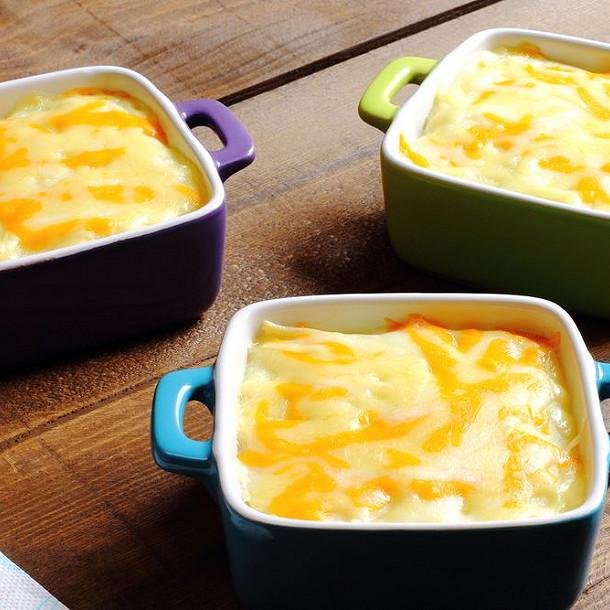 mini cocottes express jambon et fromage