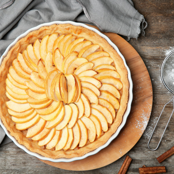 tarte aux pommes pate sablee thermomix