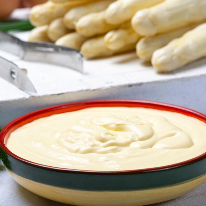 asperges et sauce mousseline au thermomix