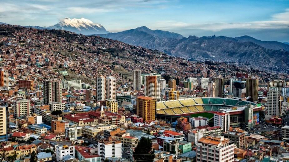 La Paz  / ciudades latinoamericanas