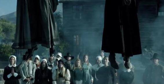 historia de las brujas de salem ahorcadas