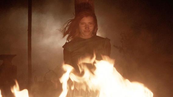 historia de las brujas de salem hoguera