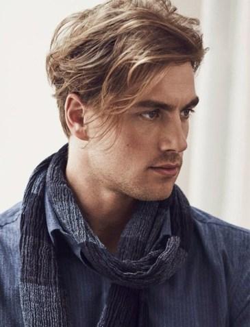 Resultado de imagen para corte de pelo largo masculino