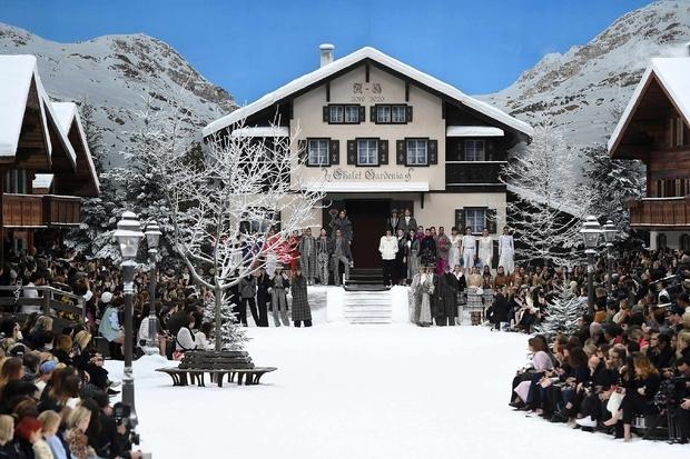 chanel otoño invierno 2019 casa alpina