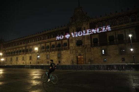 colectivas feministas proyectan protestas contra felix salgado macedonio en palacio nacional 2