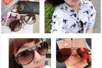 購物|入手第一支 Ray-Ban 雷朋♥ SHOPBOP 近期想要的太陽眼鏡慾望清單【Oversized 修飾款、飛行員款、貓眼款】