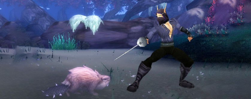 Westley and an ROUS warcraft