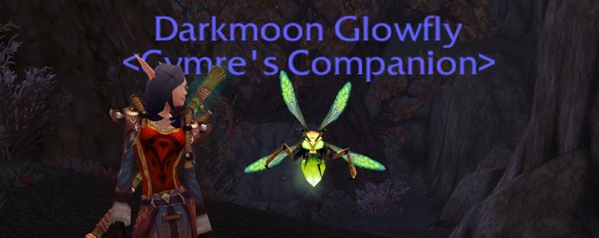 DarkmoonGlowfly Rare Wild Battle Pets