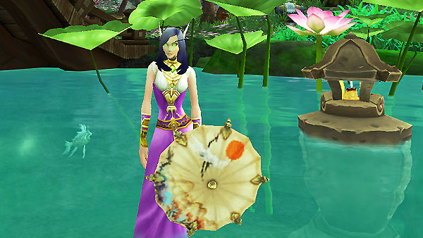 Umbrella of Chi Ji water Archaeology in Pandaria