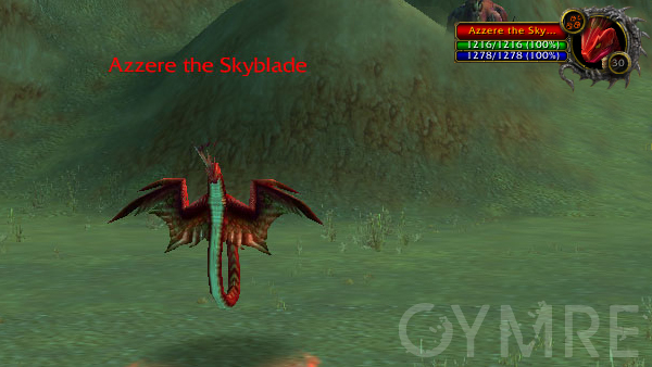 Azzere the Skyblade 30 Southern Barrens Rares
