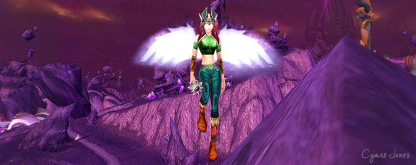 Hawkwoman in warcraft