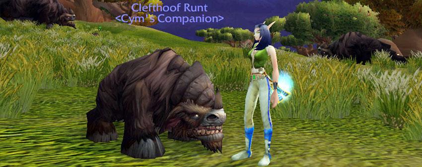 Clefthoof Runt