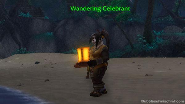 Lantern female Wanderer's Festival