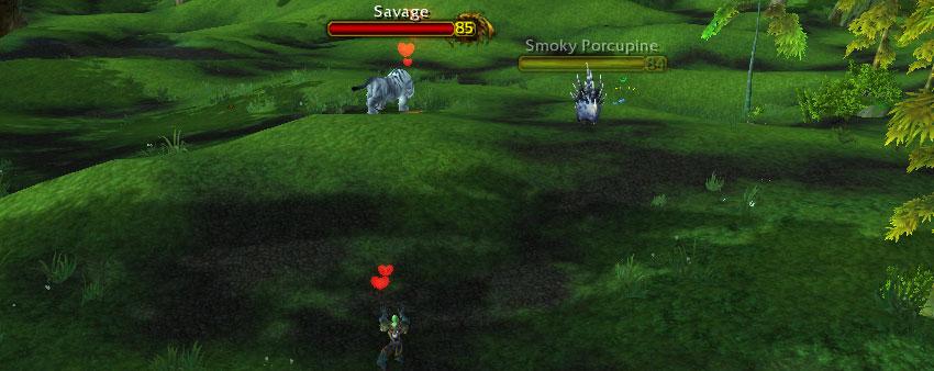 Savage hunter pet-tame