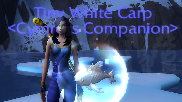 Tiny White Carp