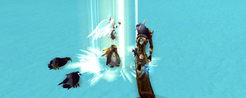 Unborn Val'kyr rezzing a pet