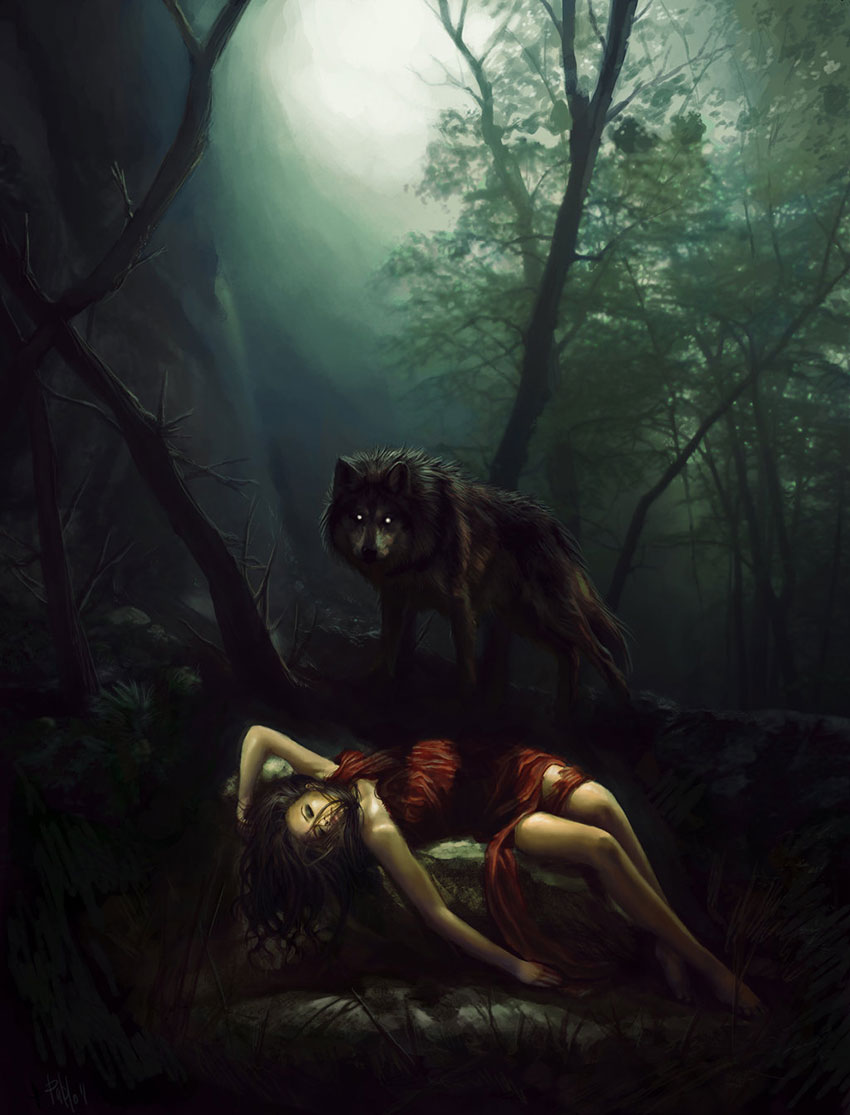 Red Riding Hood by thebastardson