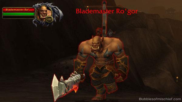 Blademaster Ro-gor