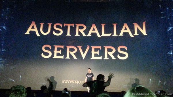 Aust servers