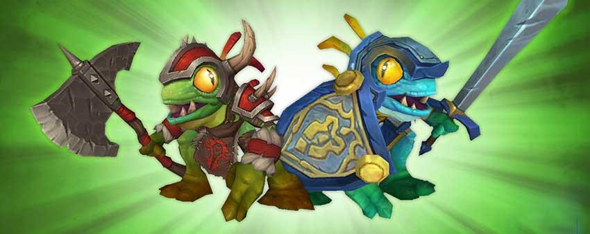 Legionnaire Murky & Knight-Captain Murky - Blizzcon pets