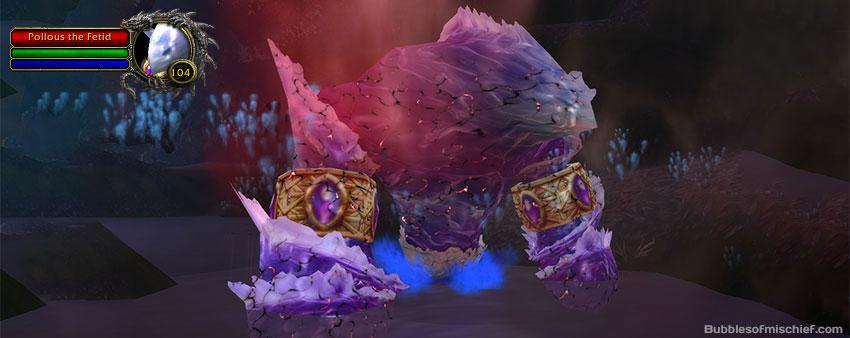 Pollous the Fetid (summoned by Filandras Mistcallerin Dreadroot) drops the Fetid Waveling