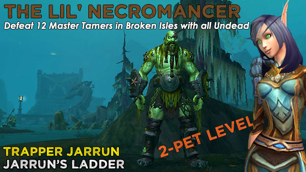 NecroTrapper2 Power-Levelling on the Broken Isles
