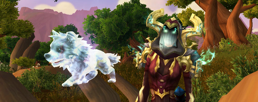 Frostwolf Ghostpup archaeology pet