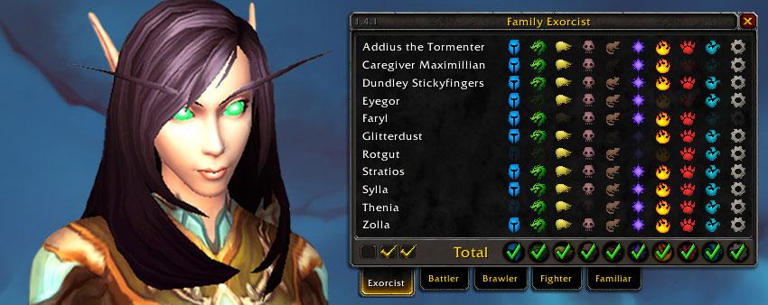Family Exorcist Tracker
