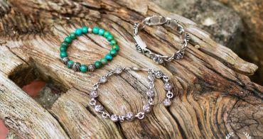 銀飾|Chrome Hearts 純銀手鍊 綠松石手環 美到讓人目眩神迷