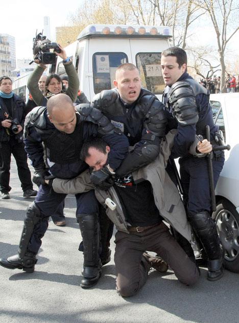 paris Olympics protests