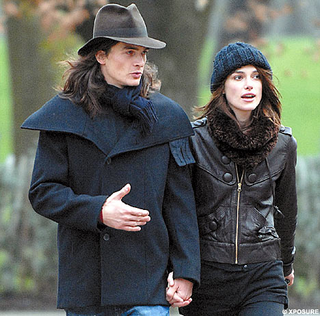 Keira Knightley and boyfriend Robert Friend hit Hyde Park