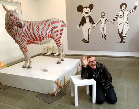 Hirst at r/site of 'work'