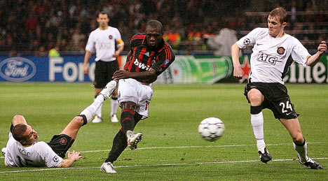 Ac Milan S Clarence Seedorf Manchester United Are In Transition And Champions League Outsiders Martina22acm S Blog