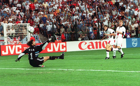 Weve come a long way since this moment, but it still haunts England football fans.