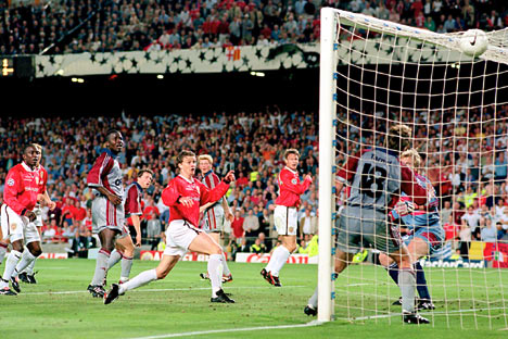 FC Bayern v Manchester United