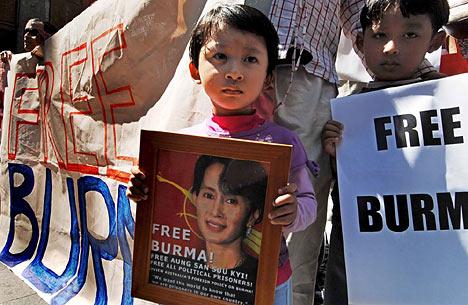 Burma protest in Sydney