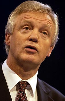 Former Shadow Home Secretary David Davis, calling for a plan to condone torture