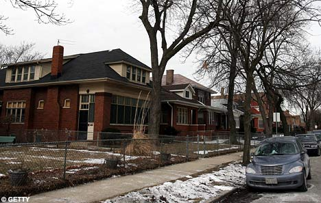 Michelle Obama's childhood home in Chicago