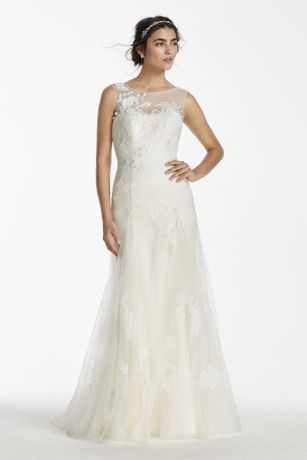 1   21 of 21 Sort By Recommended Newest Price High to Low Price     Long A Line Romantic Wedding Dress   Melissa Sweet