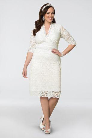 short 0 casual wedding dress kiyonna