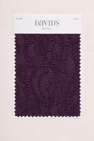 Plum Fabric Swatch David S Bridal