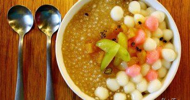 【台南美食】台南新興景觀餐廳料理,體驗將失傳的手工粉圓冰:椰庭景觀料理