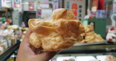 【台南甜點】不隱藏的隱藏版!大菜市內的巨無霸泡芙這裡吃:百珍麵包蛋糕