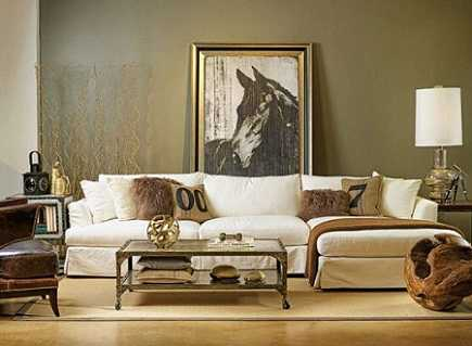 Living room color schemes olive green. 2016 2017 decorating ideas ...