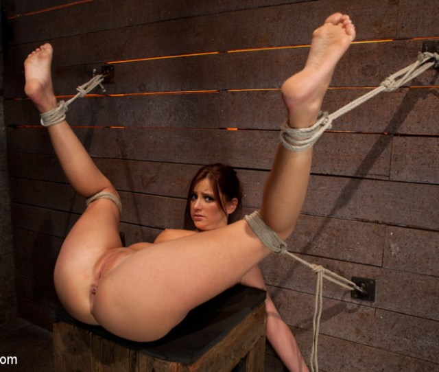 A Slavegirl Was Bound With Legs Up And Spread Caned Hogtied Gallery