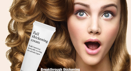 Breakthrough thickening technology, unparalleled fullness