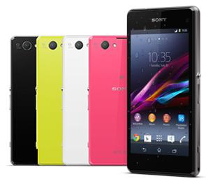 Lo mejor de Sony en un smartphone compacto resistente al agua*