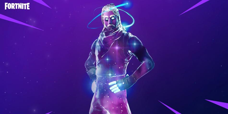 Fortnite Descubren Que El Skin Galaxy No Es Exclusivo Para Los Mviles De Samsung PS4